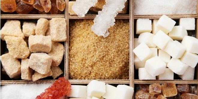 Egészséges és kevésbé egészséges cukrok.