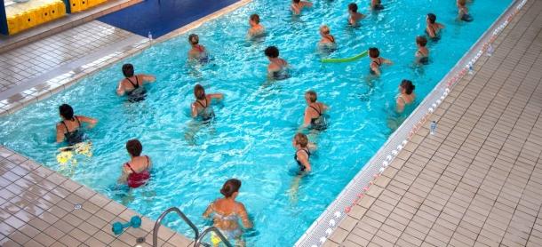 A vízi torna jót tesz mozgásszervi panaszok esetén is.