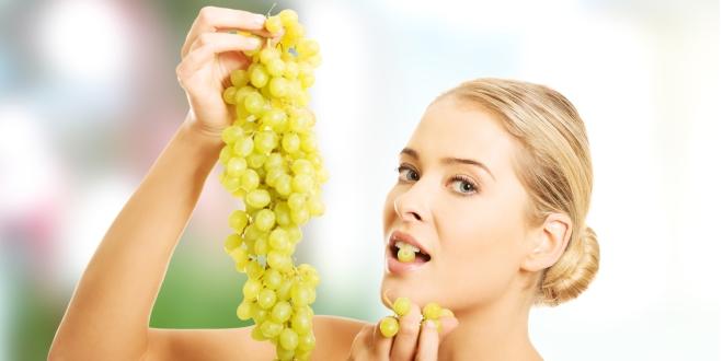 A szőlő és a szépségápolás.