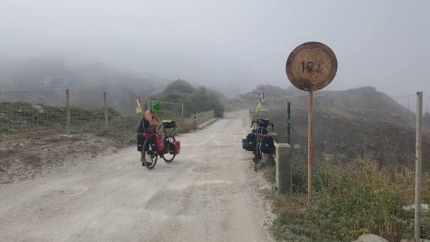 Biciklis gyűjtés az NGYSZ-nek.