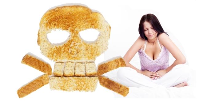 A gluténérzékenység, lisztérzékenység, ételallergia tünetei.
